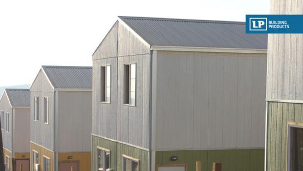 Paneles exteriores para fachadas las placas exteriores - Paneles de madera para exterior ...