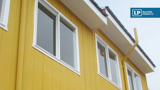 Paneles de madera para exterior perfect with paneles de - Paneles madera exterior ...