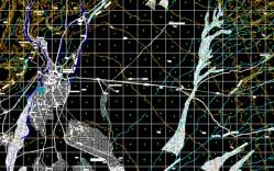 Plano: Geografía de San Pedro de Atacama