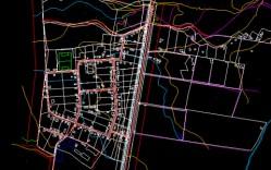 Plano: Poblado de Nueva Aurora