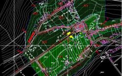 Plano: localidad de Rivadavia