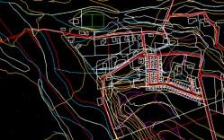 Plano: Localidad de Santa Cristina