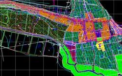 Plano: Localidad de Pisco Elqui