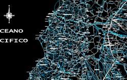 Plano: Carreteras y ríos VII Región