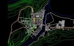 Plano: Localidad de Lebu