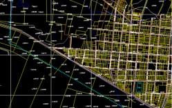 Plano: Localidad de Cabrero