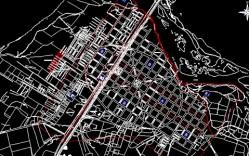 Plano: Localidad de Pitrufquén