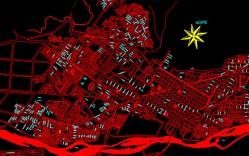 Plano: Ciudad de Temuco
