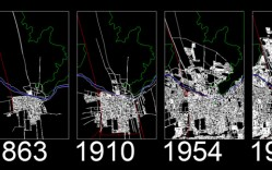 Centro de Santiago (1863-1996) - [Plano Histórico]