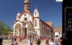 Plano: Levantamiento de Iglesia del Niño Dios de Sotaqui