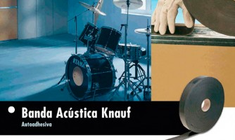 Banda Acústica® - Autoadhesiva