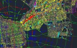 Plano: Santiago Intercomunal, Conexiones Sector Oriente RM