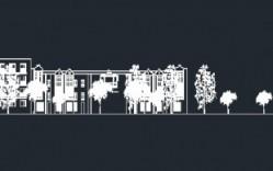 Plano: Elevación Calle Villavicencio, Stgo.