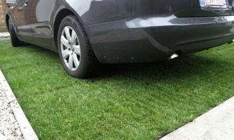 Paneles para piso drenante: Parking Césped