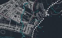 Plano: Ciudad de Dichato