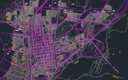 Ciudad de Curico [Plan Regulador] en dwg