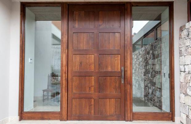Pueras de madera productos puertas de calle modernas for Puertas para piezas