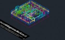 Proyectos Clásicos_Le-Corbusier_Ville-Savoye_3D