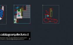 Proyectos Clásicos: Le Corbusier - Ville Savoye Planimetrias