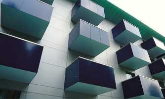 Balcones - Trespa® Meteon®: Placas seguras y atractivas