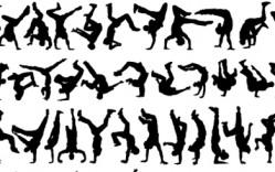 Bailarines en Vector
