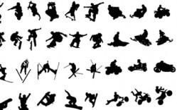 personas_Vectores de extreme_silhouettes