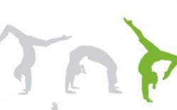 Mujeres Haciendo Yoga en Vectores
