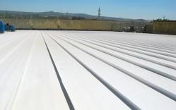 Impermeabilizante Elastagard M para cubiertas metálicas / Tep