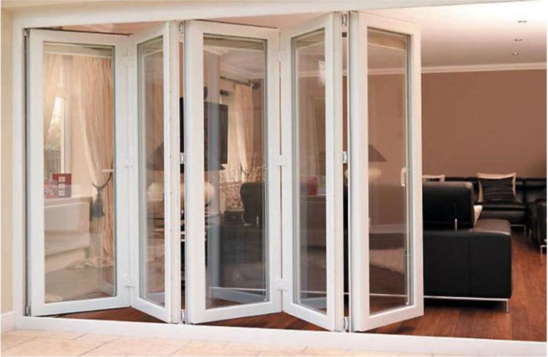 Puertas correderas plegables elegant puertas correderas - Puerta corredera plegable ...