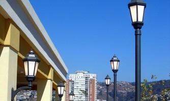 Luminaria para parques Neruda