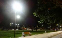 Iluminación LED se toma parques y avenidas de Concepción - Scherer
