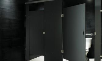 Cabinas HPL de Grupo Habitante