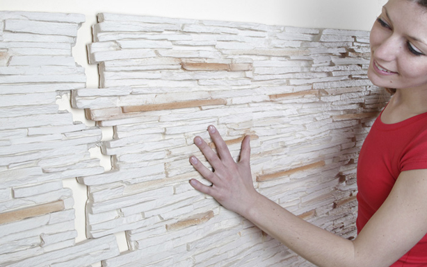 Paneles decorativos de poliuretano placa decorativa d for Placas decorativas paredes interiores
