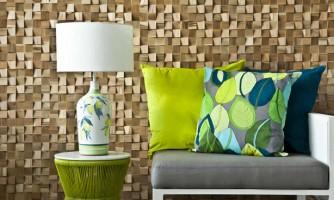 Revestimiento de mosaico en madera OCA