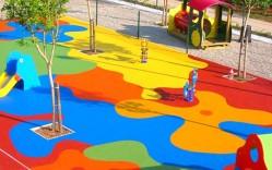 Pavimentos de seguridad elásticos de caucho para Parques Infantiles / Gentileza Integral Design