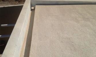 Revestimiento cementicio para terrazas