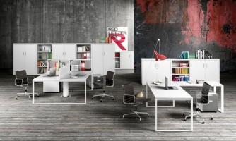 Serie ADAPTA: Mobiliario para oficina