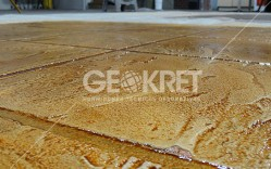 Pisos Texturados Geokret / Comintecc