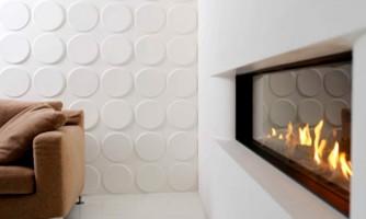 Paneles decorativos 3D para revestimiento interior