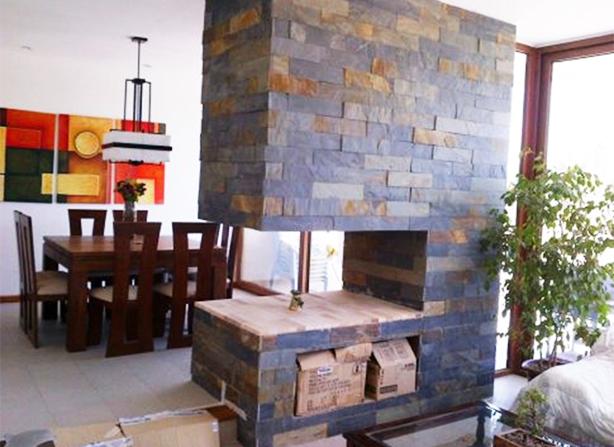 Imitacion piedra interior ideas de disenos - Plaqueta decorativa piedra ...