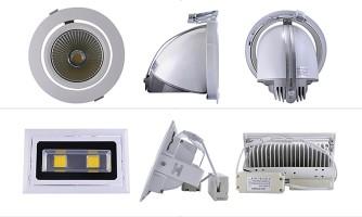 Focos LED Embutidos para cielo