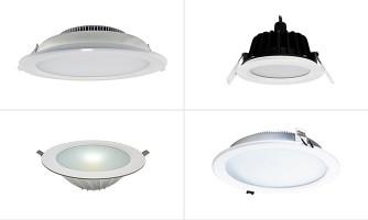Focos LED embutidos Downlight