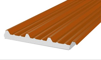 Panel de acero aislante AC-4