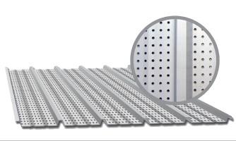 Paneles de acero Perforados