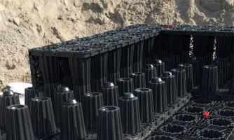 ACO Stormbrixx: Sistema de atenuación e infiltración de aguas