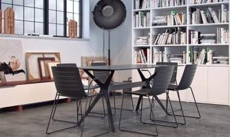 Mesas y Sillas: Línea Hábitat / Mobiliario de uso domestico