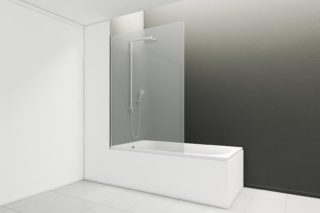 Mampara Tulpe para bañeras / Wasser