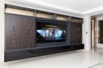 Mueble mural oculta Tv de Hielosur con chapas de Urgell