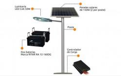 Portada postes solares